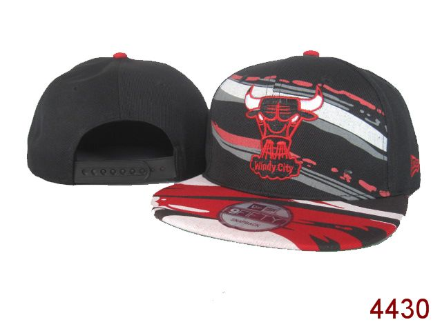 Chicago Bulls NBA Snapback Hat SG06