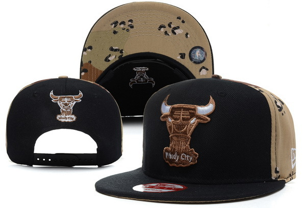 Chicago Bulls Snapback Hat XDF 7