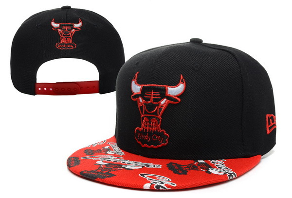 Chicago Bulls Snapback Hat XDF 8