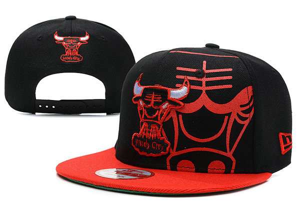 Chicago Bulls Snapback Hat XDF 11