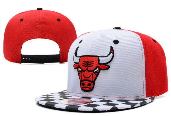 Chicago Bulls Snapback Hat XDF 14