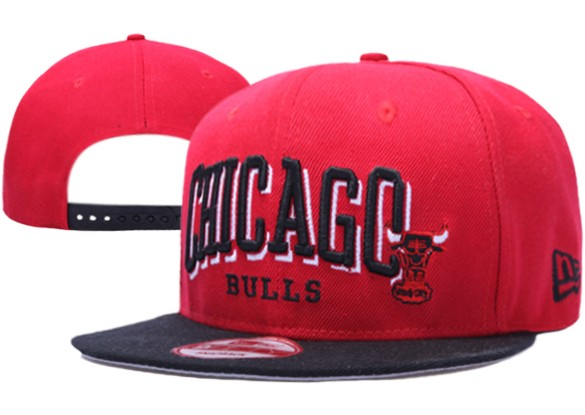 Chicago Bulls NBA Snapback Hat XDF045