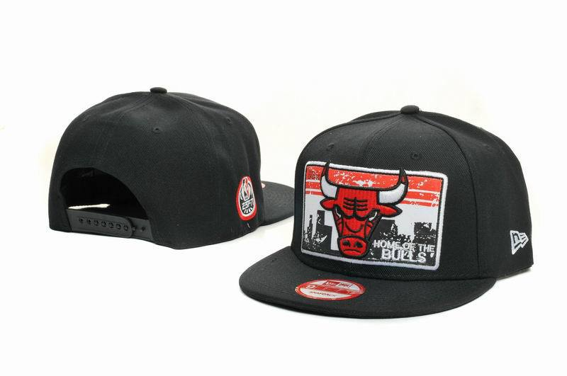 Chicago Bulls Snapback Hat GF 1