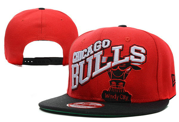 Chicago Bulls Snapback Hat XDF 4