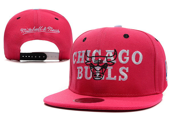 Chicago Bulls Snapback Hat XDF 5
