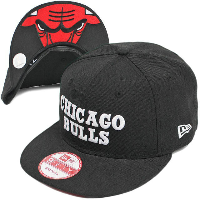 Chicago Bulls Snapback Hat XDF