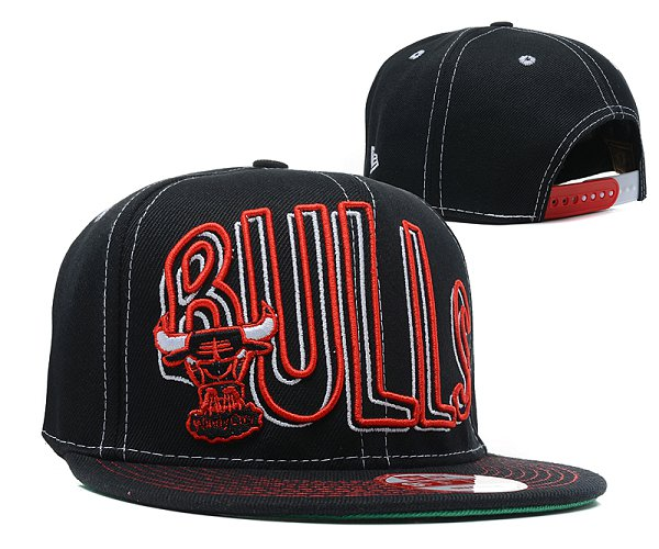 Chicago Bulls NBA Snapback Hat SD 2309