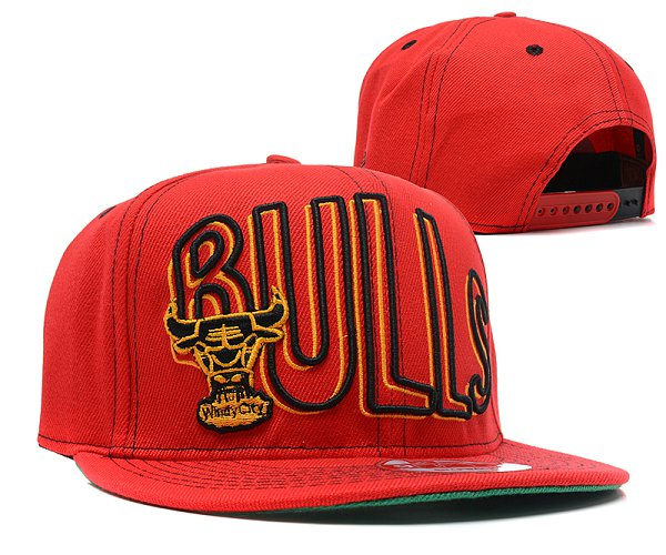 Chicago Bulls NBA Snapback Hat SD 2310