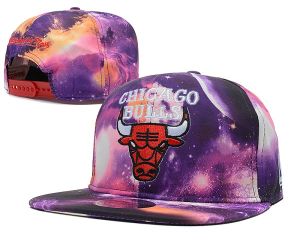 Chicago Bulls NBA Snapback Hat SD 2312