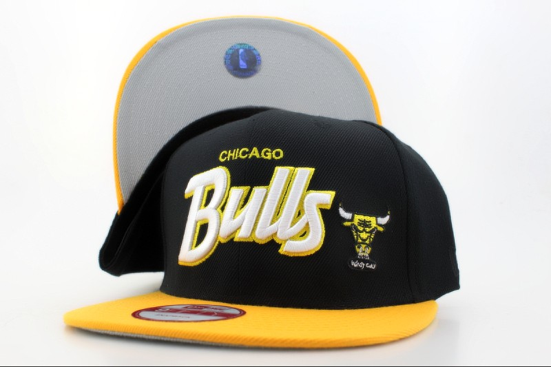 Chicago Bulls Snapback Hat QH 103