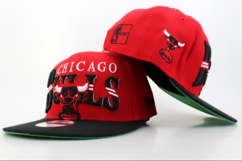 Chicago Bulls Snapback Hat QH 104