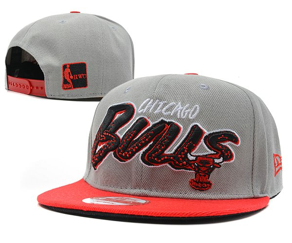Chicago Bulls Snapback Hat SD 7609