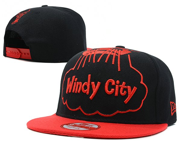 Chicago Bulls Snapback Hat SD 7610