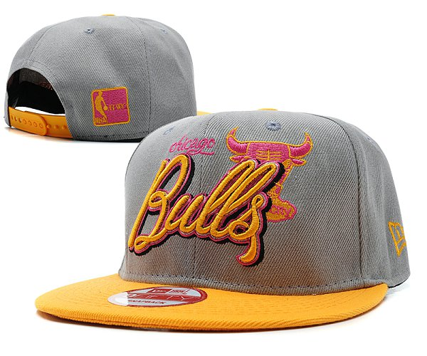 Chicago Bulls Snapback Hat SD 8511
