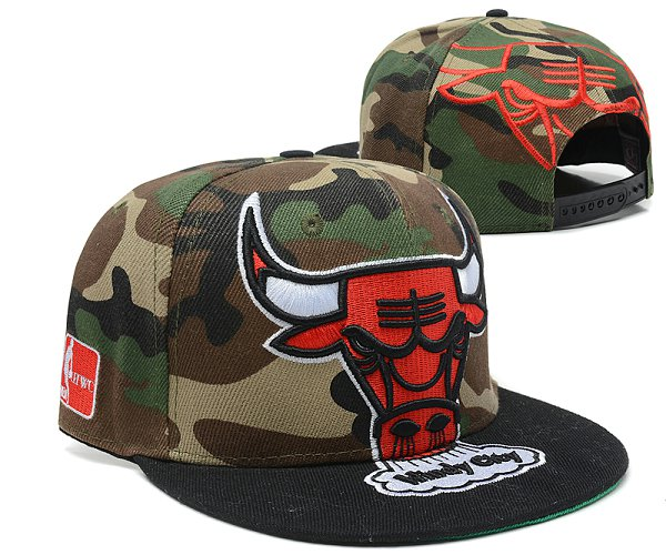 Chicago Bulls Snapback Hat SD 8517