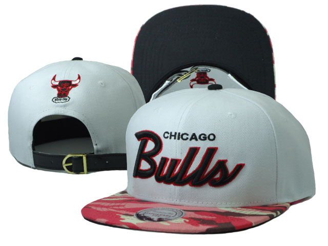 Chicago Bulls Snapback Hat SF 01
