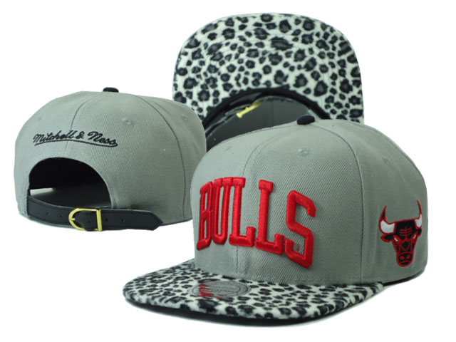 Chicago Bulls Snapback Hat SF 02