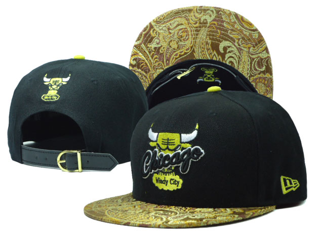 Chicago Bulls Snapback Hat SF 08