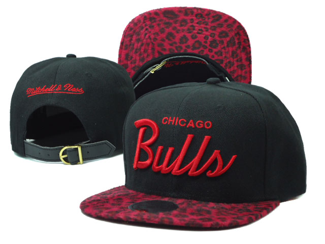 Chicago Bulls Snapback Hat SF 15