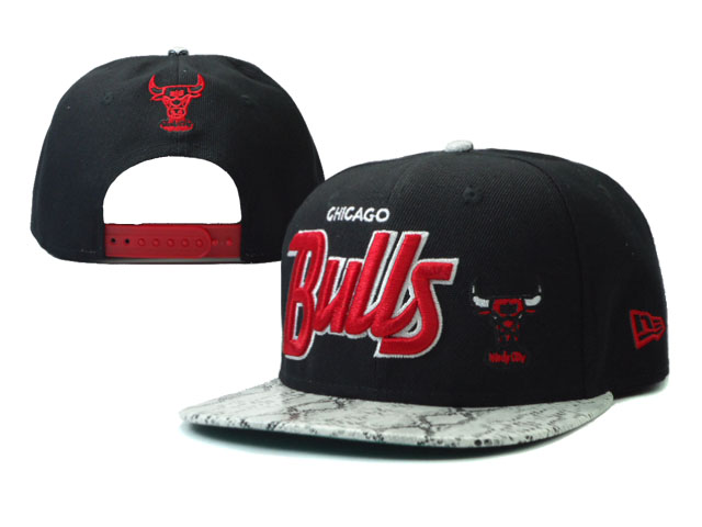Chicago Bulls Snapback Hat SF 34