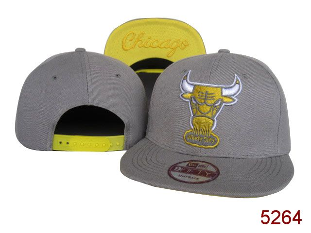 Chicago Bulls Snapback Hat SG 3877
