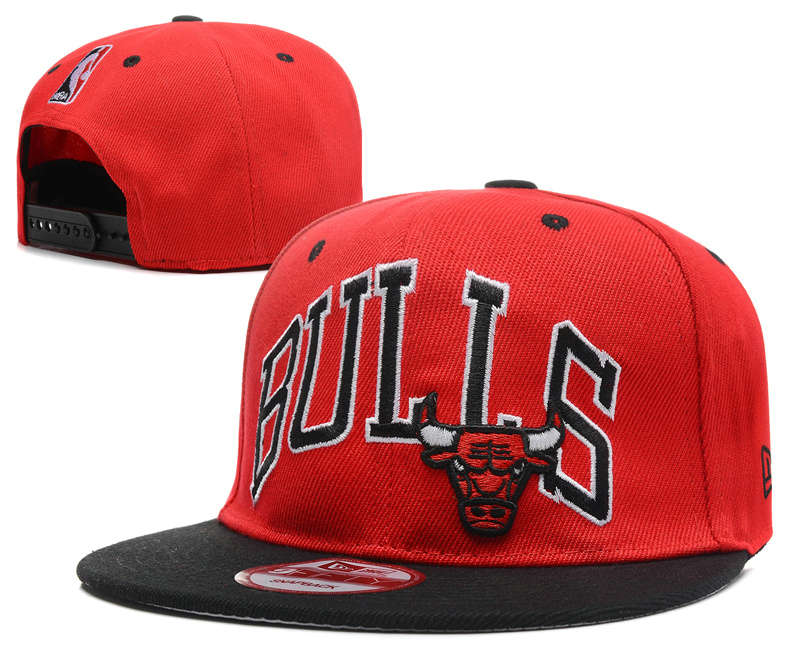 Chicago Bulls Snapback Hat DF3 0512