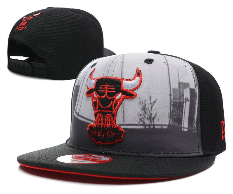 Chicago Bulls Snapback Hat SD1 0512