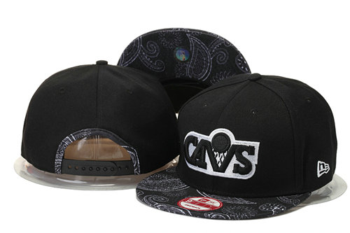 Cleveland Cavaliers Snapback Black Hat 2 GS 0620