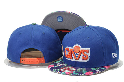 Cleveland Cavaliers Snapback Blue Hat GS 0620