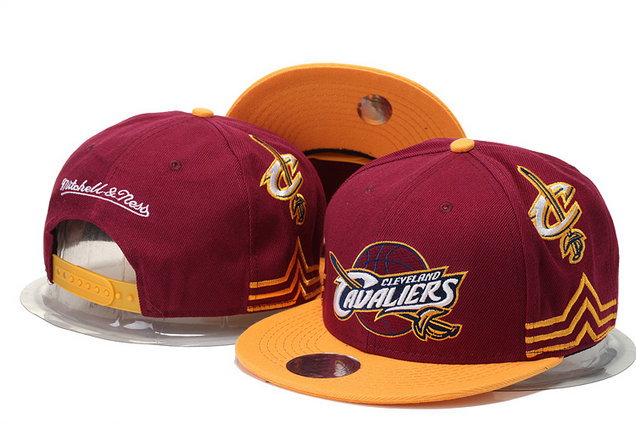 Cleveland Cavaliers Snapback Red Hat 1 GS 0620