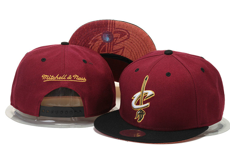 Cleveland Cavaliers Snapback Red Hat GS 0620