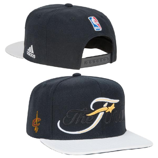 Cleveland Cavaliers The Final Snapback Black Hat XDF 0620