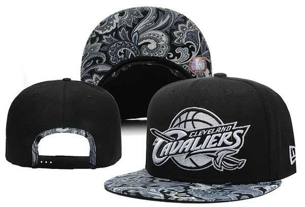 Cleveland Cavaliers Black Snapback Hat XDF 0526