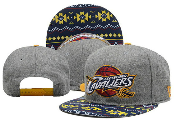 Cleveland Cavaliers Snapback Hat 1 XDF 0526