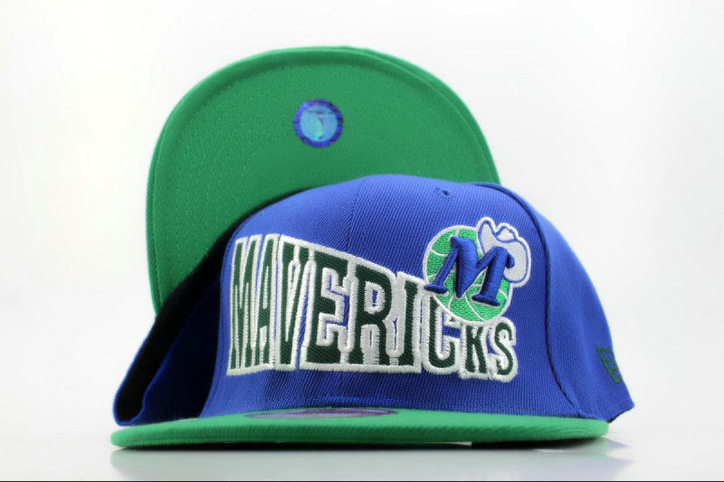 Dallas Mavericks Blue Snapback Hat QH
