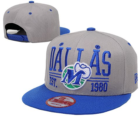 Dallas Mavericks NBA Snapback Hat SD