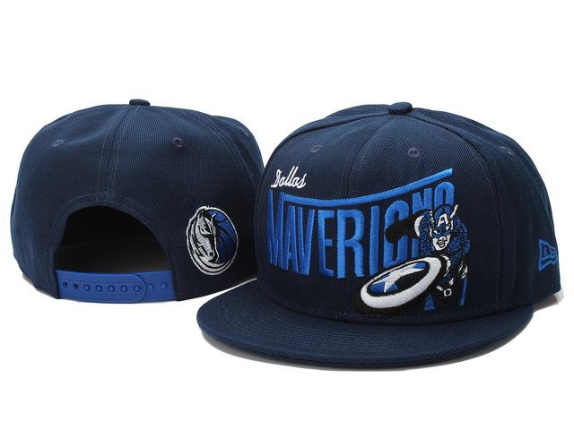 Dallas Mavericks NBA Snapback Hat YS058