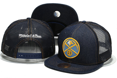 Denver Nuggets Mesh Snapback Hat YS 0701