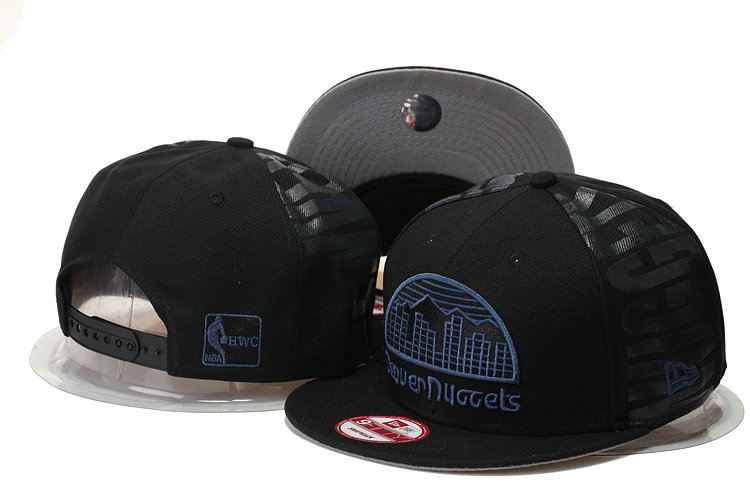 Denver Nuggets Snapback Black Hat GS 0620