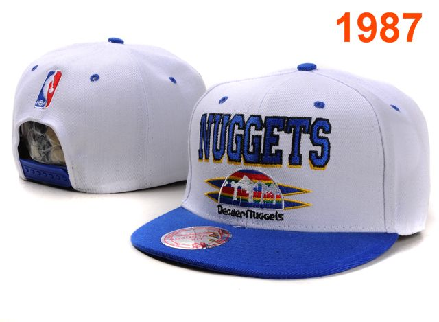 Denver Nuggets NBA Snapback Hat PT008