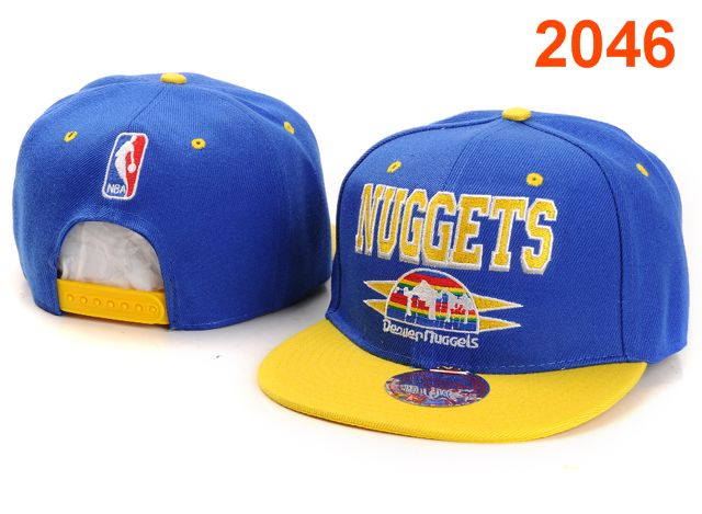 Denver Nuggets NBA Snapback Hat PT028