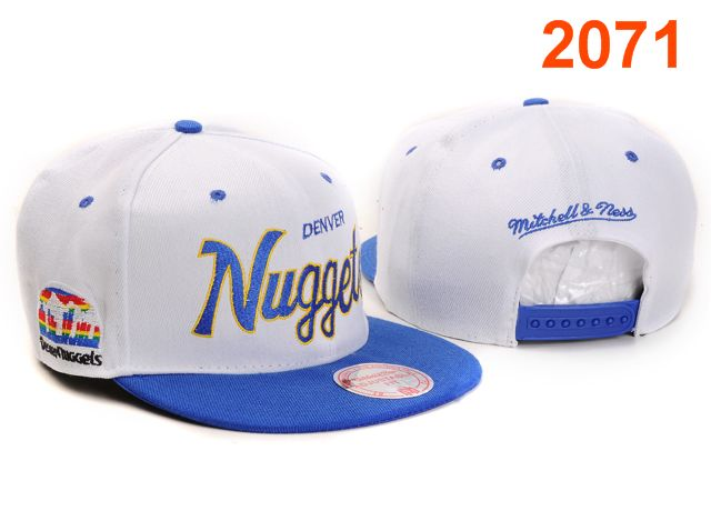 Denver Nuggets NBA Snapback Hat PT049