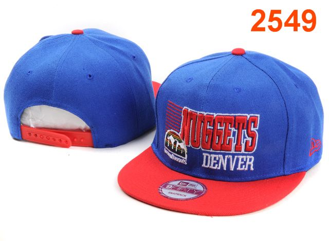 Denver Nuggets NBA Snapback Hat PT072