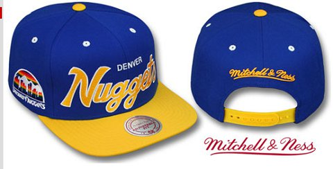 Denver Nuggets NBA Snapback Hat TY034
