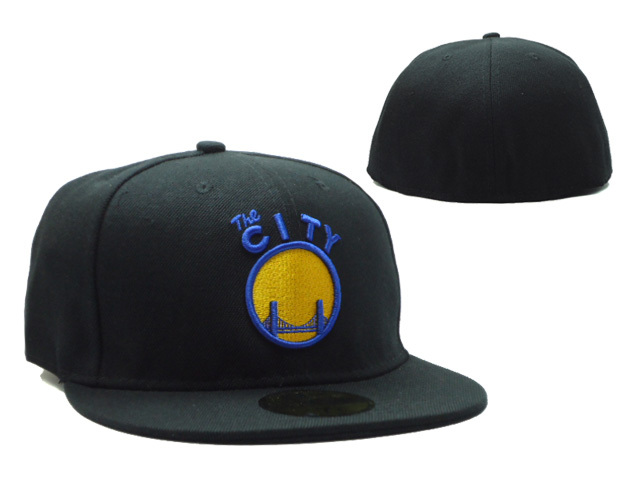 Golden State Warriors Black Snapback Hat SF 0528