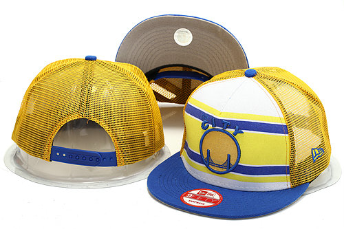 Golden State Warriors Mesh Snapback Hat YS 0528