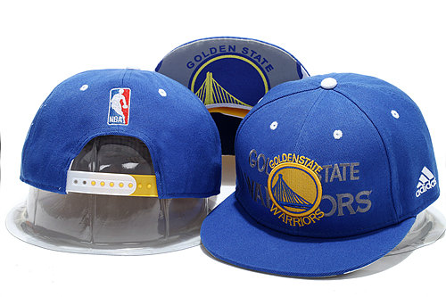 Golden State Warriors Blue Snapback Hat YS 0721