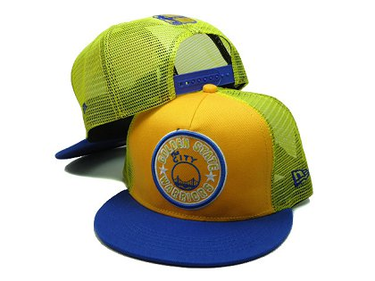 Golden State Warriors Snapback Hat SF 140802 02