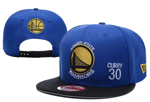 Golden State Warriors #30 Curry Snapback Blue Hat XDF 0620