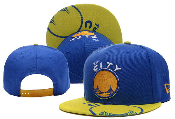 Golden State Warriors Snapback Blue Hat XDF 0620
